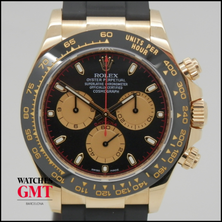 ROLEX DAYTONA 116518LN GOLD CERAMIC