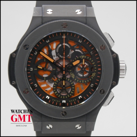 HUBLOT BIG BANG AERO BANG SKELETON CHRONO EDICIÓN LIMITADA