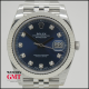 ROLEX DATEJUST 41 AZUL CON DIAMANTES
