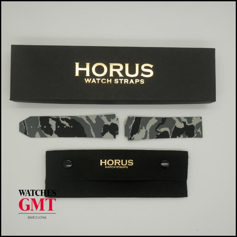 HORUS STRAPS HUBLOT SNOW CAMOUFLAGE