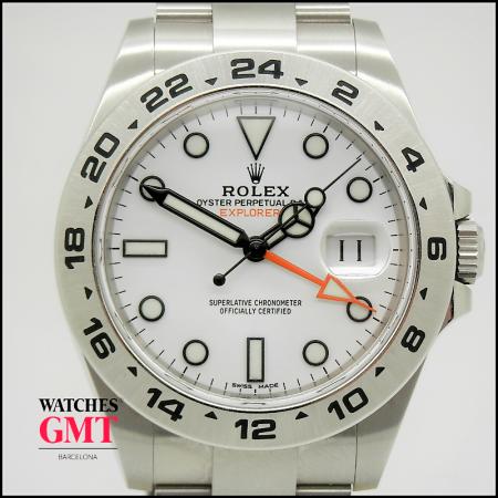 ROLEX EXPLORER II WHITE DIAL (1)