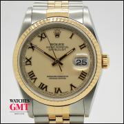 Rolex Datejust 36 Steel & Gold