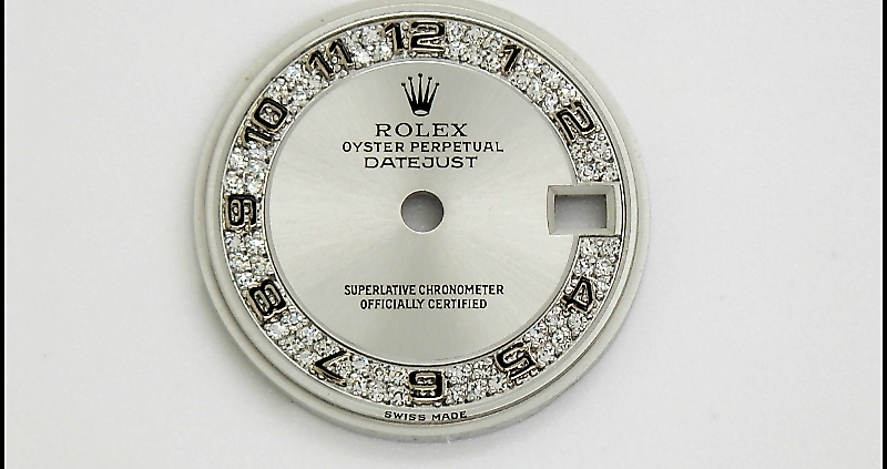Esfera Rolex Datejust 26 Oro Blanco Diamantes