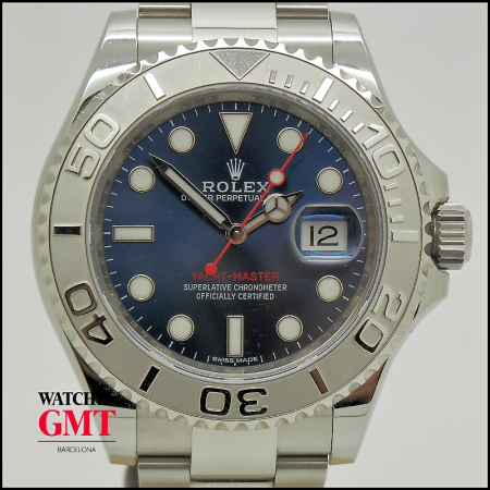 ROLEX YACHT MASTER BLUE DIAL (1)